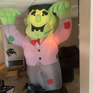 Gemmy airblown inflatable Halloween Frankenstein